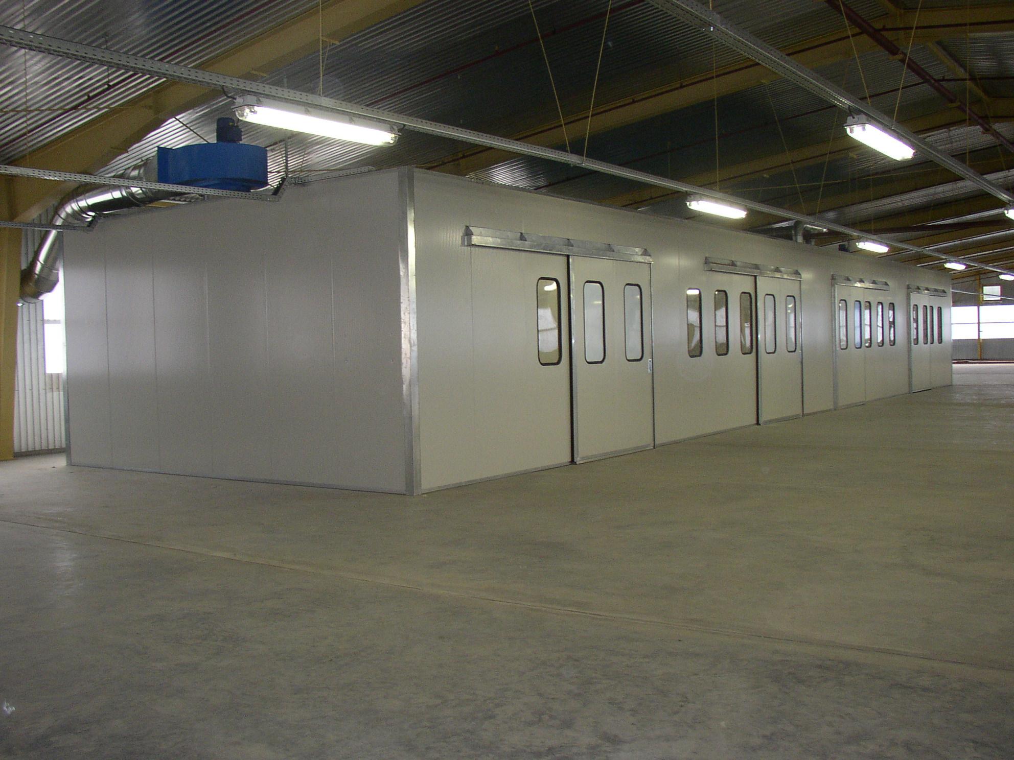 Impianti e cabine di verniciatura imea impianti for Cabine per laghi